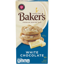 Baker's Premium White Chocolate Baking Bar 4 oz Box