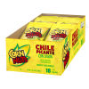 Corn Nuts Chile Picante con Limon Crunchy Corn Kernels 18 - 1.7 oz Tray