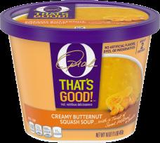 O That's Good Creamy Butternut Squash Soup 16 oz Tub