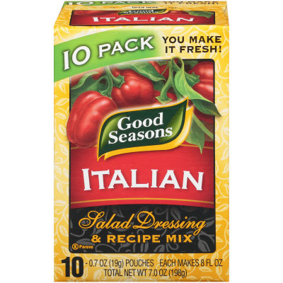 Good Seasons Italian Dry Salad Dressing and Recipe Mix 0.7oz 10 pack