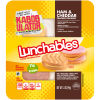 Lunchables Ham & Cheddar with Vanilla Crème Cookie 3.5 oz Tray
