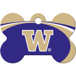 Washington Huskies Large Bone Quick-Tag