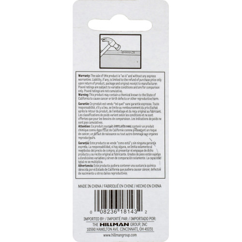 OOK Large Self-Leveling Sawtooth Hanger Pack of 5
