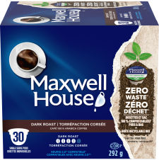 Maxwell House Dark Roast 30ct Single Serve Coffee Pods