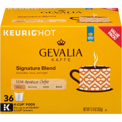 Gevalia Signature Blend Coffee K-Cup Pods, 36 Count