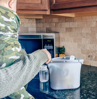Steam Sanitization Kills Harmful Germs and Bacteria: Sanitize your microwave-safe pump parts, bottles, and pacifiers to help kill harmful germs and bacteria.