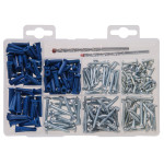 Metal Screws and Drill Bits Kit