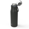 Kiona 20 ounce Vacuum Insulated Stainless Steel Tumbler, Charcoal slideshow image 4