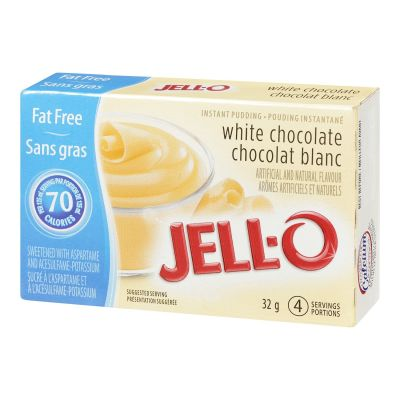 Jell-O Fat Free White Chocolate Instant Pudding Mix