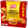 Oscar Mayer Ham and Cheddar Slider Melts 10 oz Box