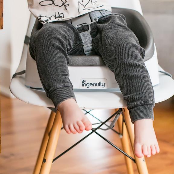 SmartClean Toddler Booster™ - Slate