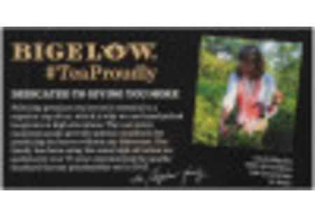 Bigelow English Breakfast Tea bag in foil overwrap