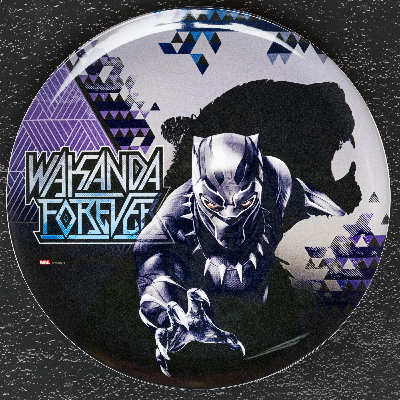 Marvel Comics Dinnerware Set, Black Panther, 2-piece set slideshow image 2