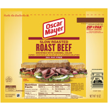 Oscar Mayer Slow Roasted Roast Beef 10 oz