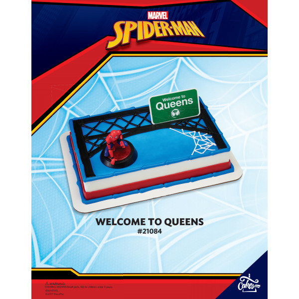 Marvel's Spider-Man™ Homecoming Welcome to Queens DecoSet® The Magic of Cakes® Page