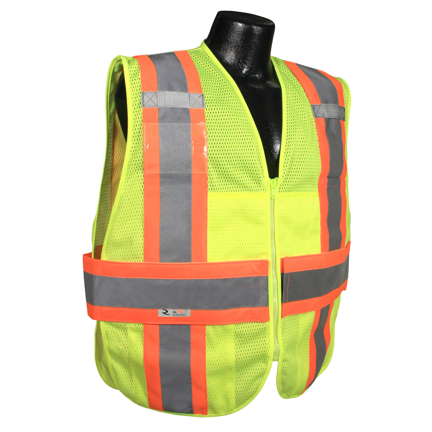 Radians SV23-2 Type R Class 2 Expandable Two Tone Safety Vest