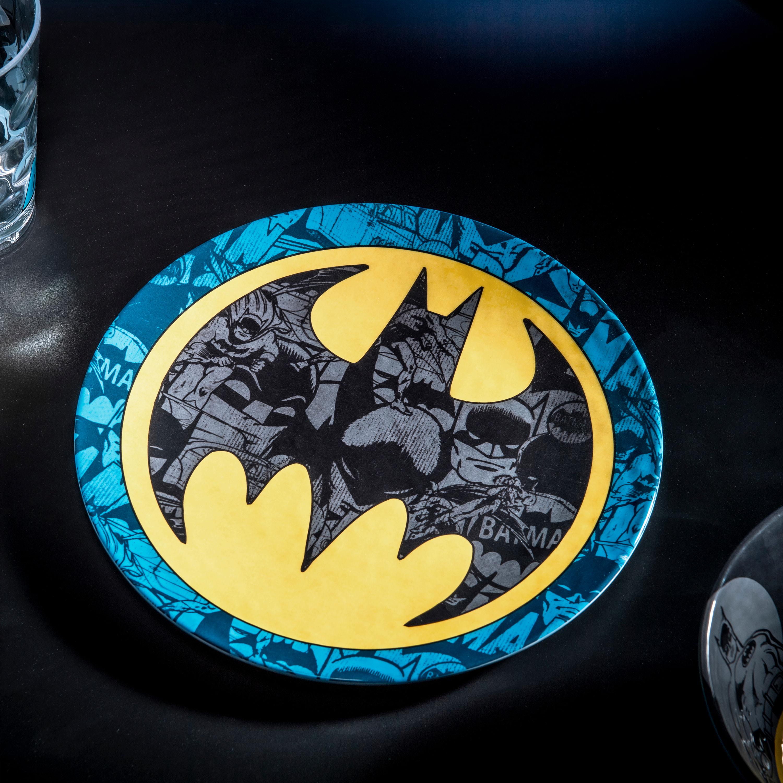 DC Comics Kids 9-inch Plate and 6-inch Bowl Set, Batman, 2-piece set slideshow image 9