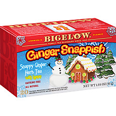 Ginger Snappish Herbal Tea - Case of 6 boxes - total of 120 teabags