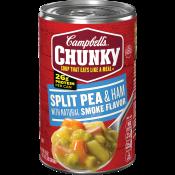 Split Pea & Ham with Natural Smoke Flavor Soup