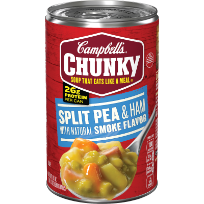 Split Pea & Ham with Natural Smoke Flavor Soup