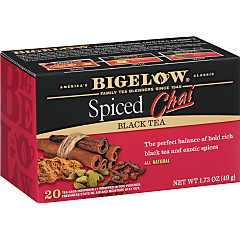Spiced Chai Tea - Case of 6 boxes- total of 120 teabags