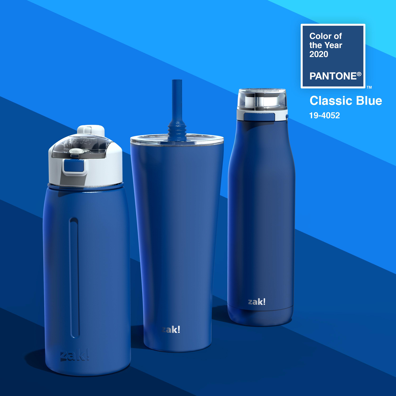 Kiona 29 ounce Vacuum Insulated Stainless Steel Tumbler, Indigo slideshow image 9