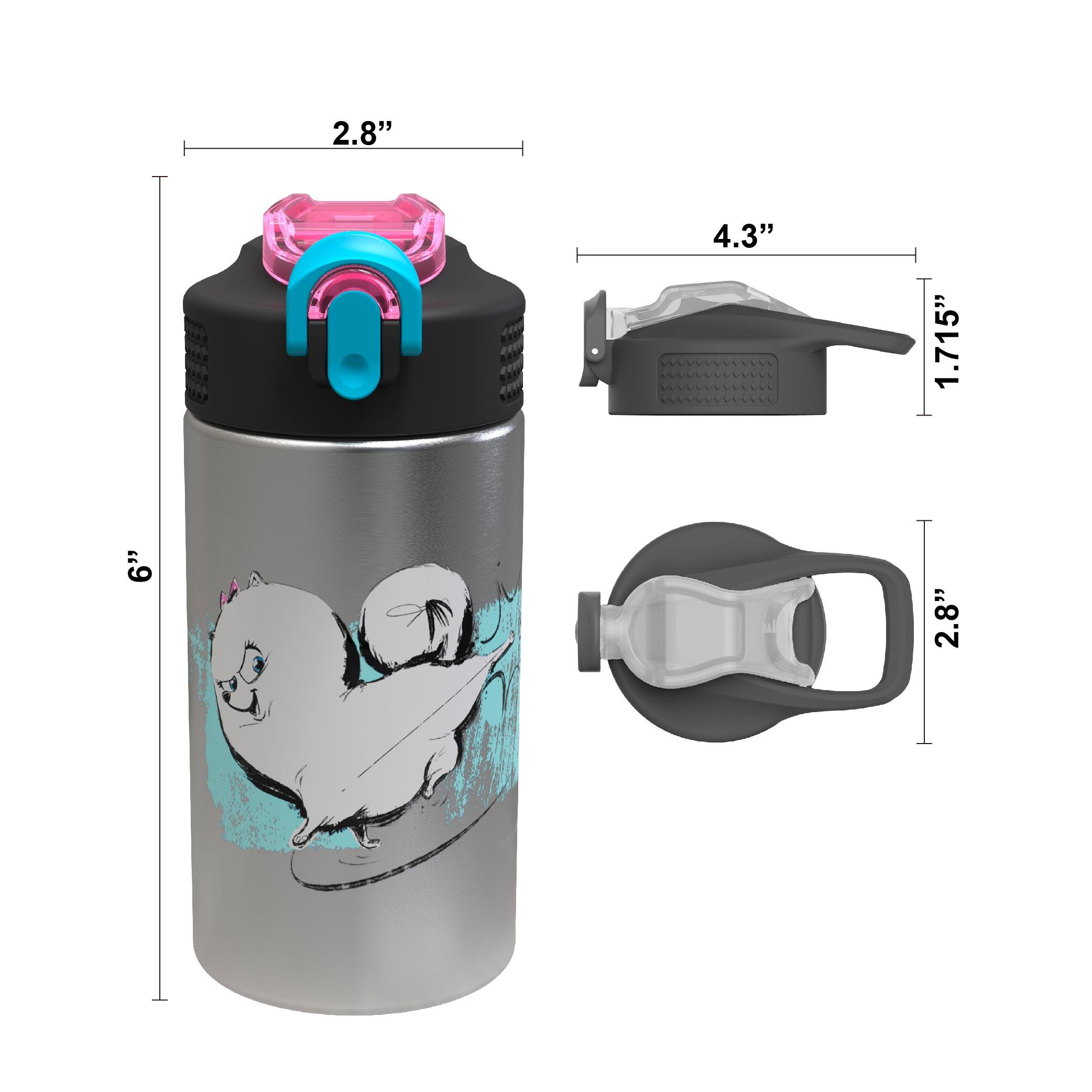 Secret Life Of Pets 2 15.5 ounce Water Bottle, Gidget slideshow image 6