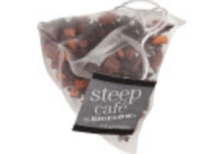 steep cafe by Bigelow full leaf hot cinnamon black tea pyramid bag