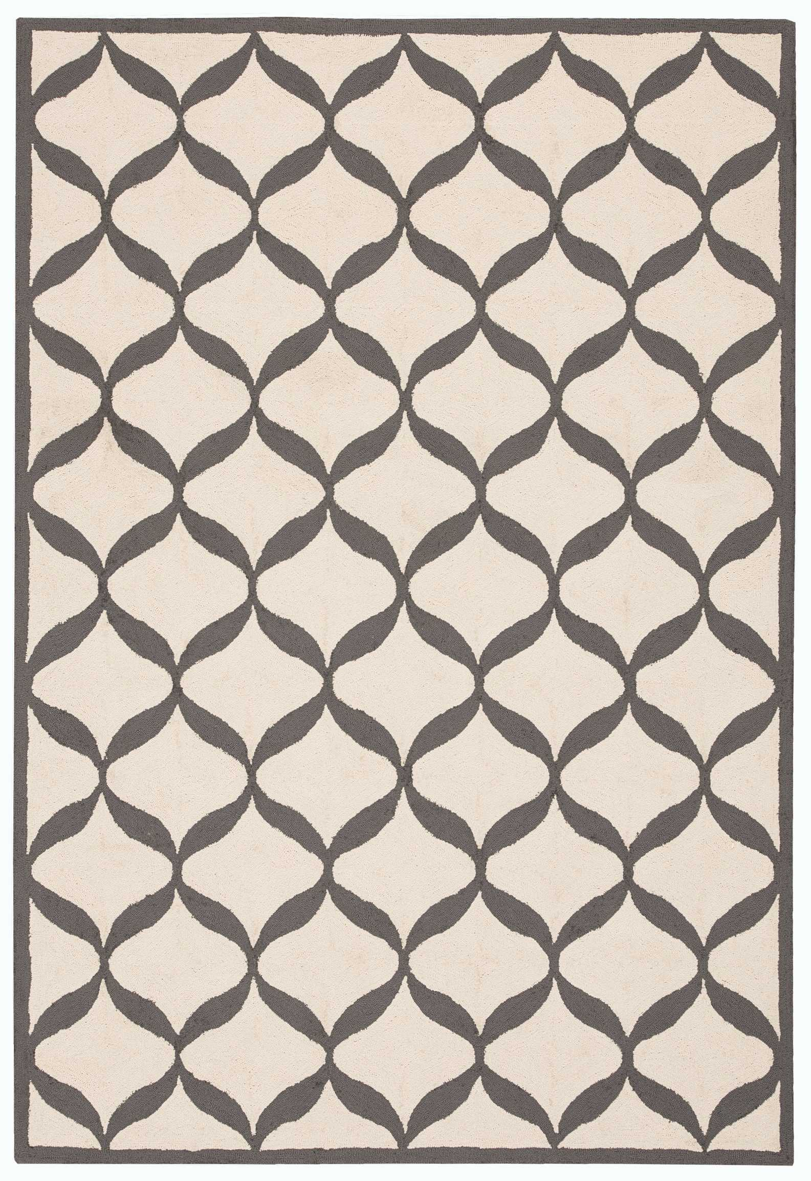 Nourison Decor Der06 Grey 5'X7'  Area Rug