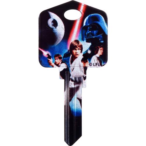 Star Wars A New Hope Key Blank Kwikset 66/97 KW1/10