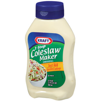 Kraft 1-Step Coleslaw Maker Dressing 22 fl oz Bottle