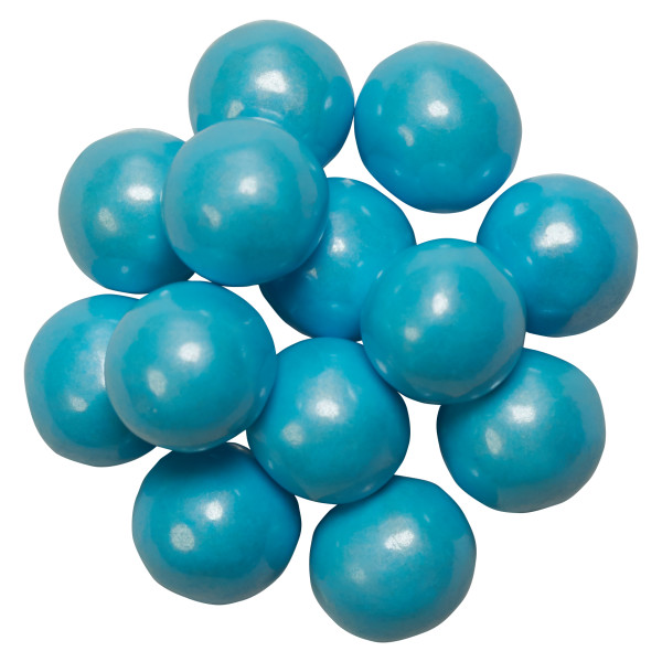 Shimmer Powder Blue Sixlets® Sugar Candy Decorations