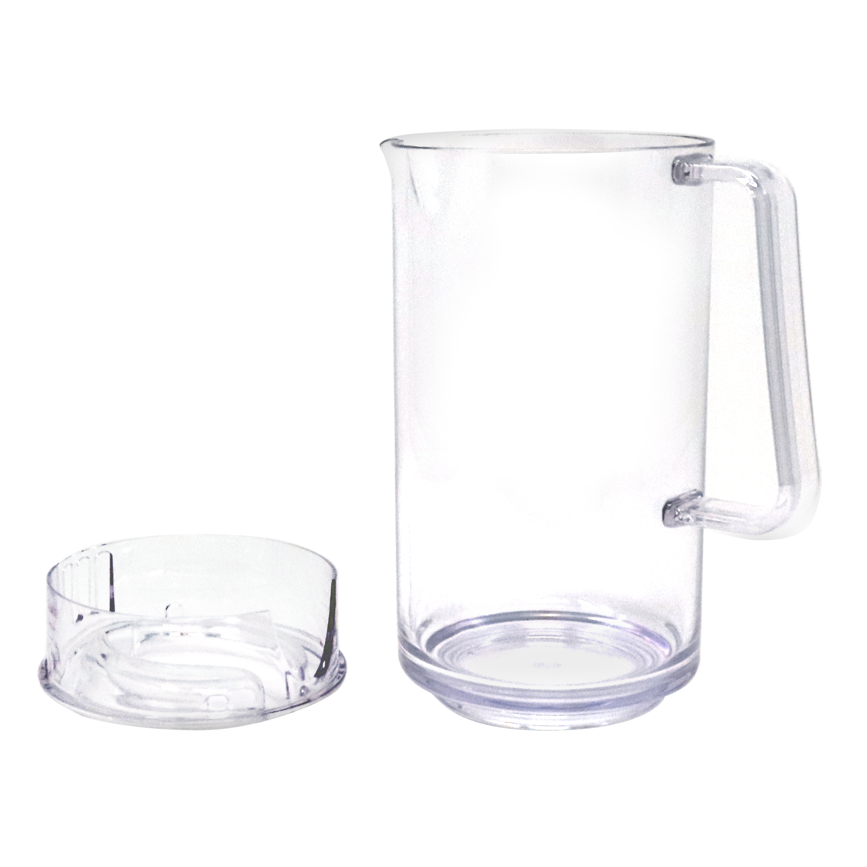 Zak Tabletime 2 quart Water Pitcher, Clear slideshow image 4