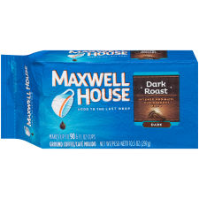 Maxwell House Dark Roast Ground Coffee 10.5 oz