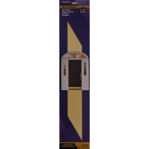 Hardware Essentials Brite Brass Kick Plate 6