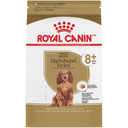Royal Canin Breed Health Nutrition Dachshund 8+ Adult Dry Dog Food