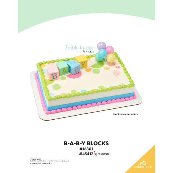 B-A-B-Y Blocks DecoSet® The Magic of Cakes® Page