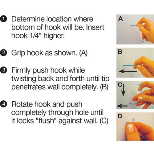 Hillman Monkey Hook and Gorilla Hook Variety Pack 30