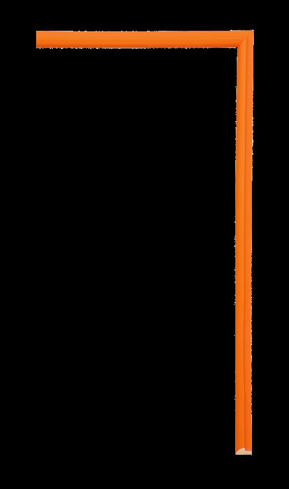 Confetti Fillet Red Orange 1/4