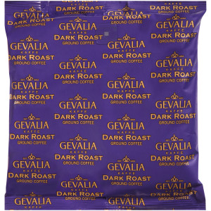 GEVALIA Dark Roast Coffee, 8 oz. Bag (Pack of 20) image