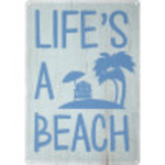 "Life's a Beach Novelty Sign (10"" x 14"")"