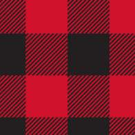 Swatch for Printed Duck Tape® Brand Duct Tape - Buffalo Plaid, 1.88 in. x 10 yd.