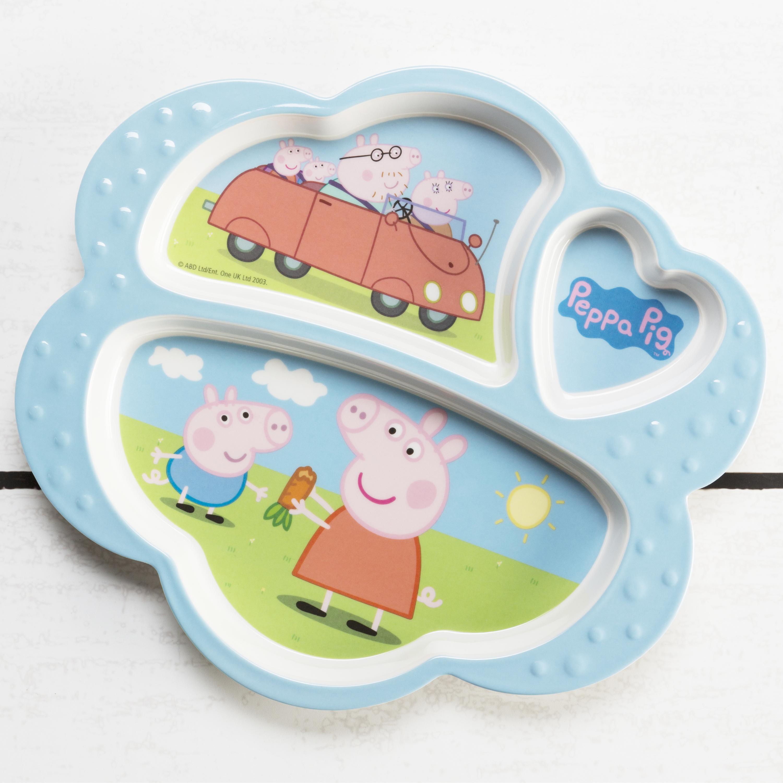 Nick Jr. Kid's Dinnerware Set, Peppa Pig, 3-piece set slideshow image 3