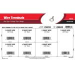 Stud-Type Wire Terminals Assortment (8 Gauge thru 2 Gauge)