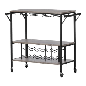 Munich - Bar Cart with Wine Rack