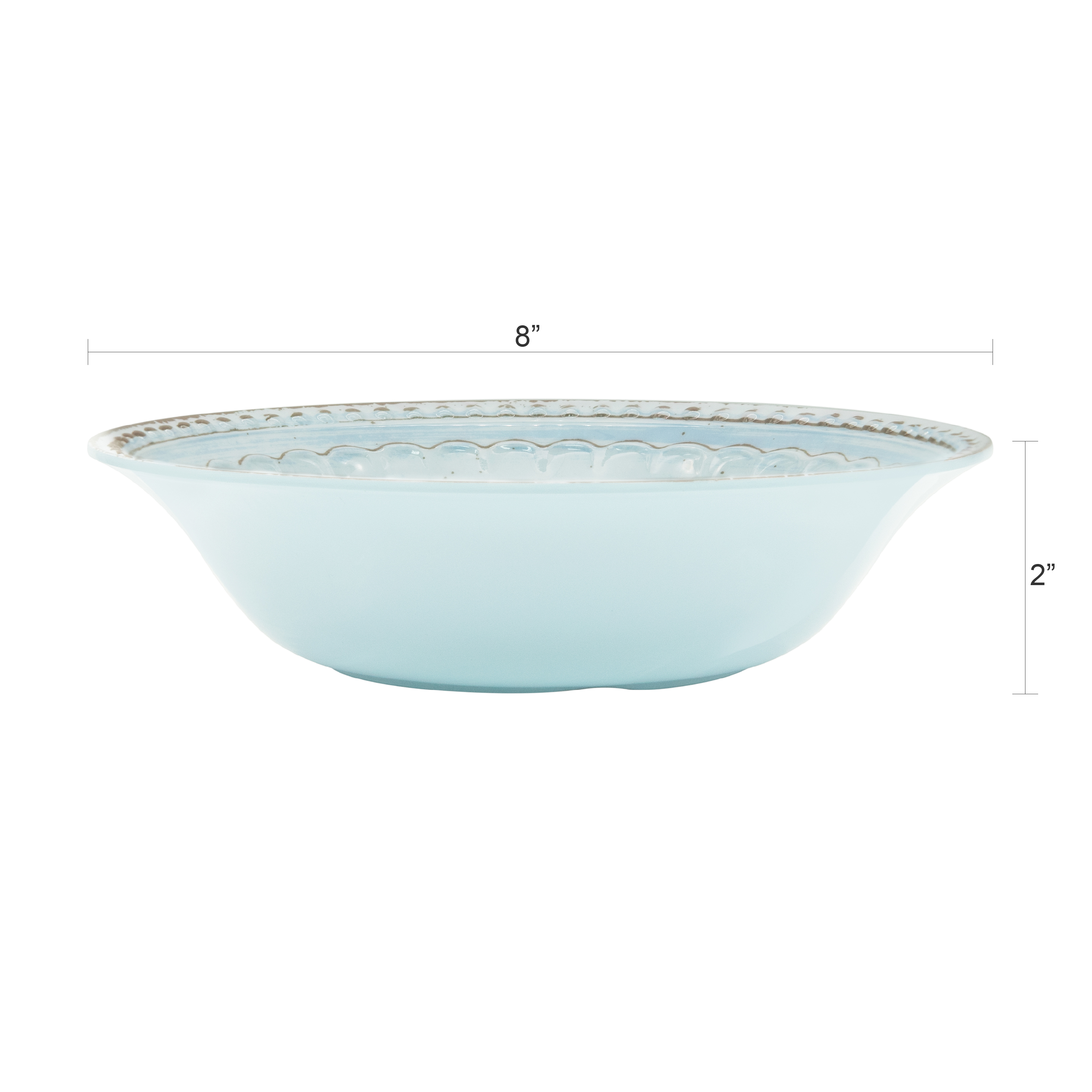 French Country Plate & Bowl Sets, Blue, 12-piece set slideshow image 7