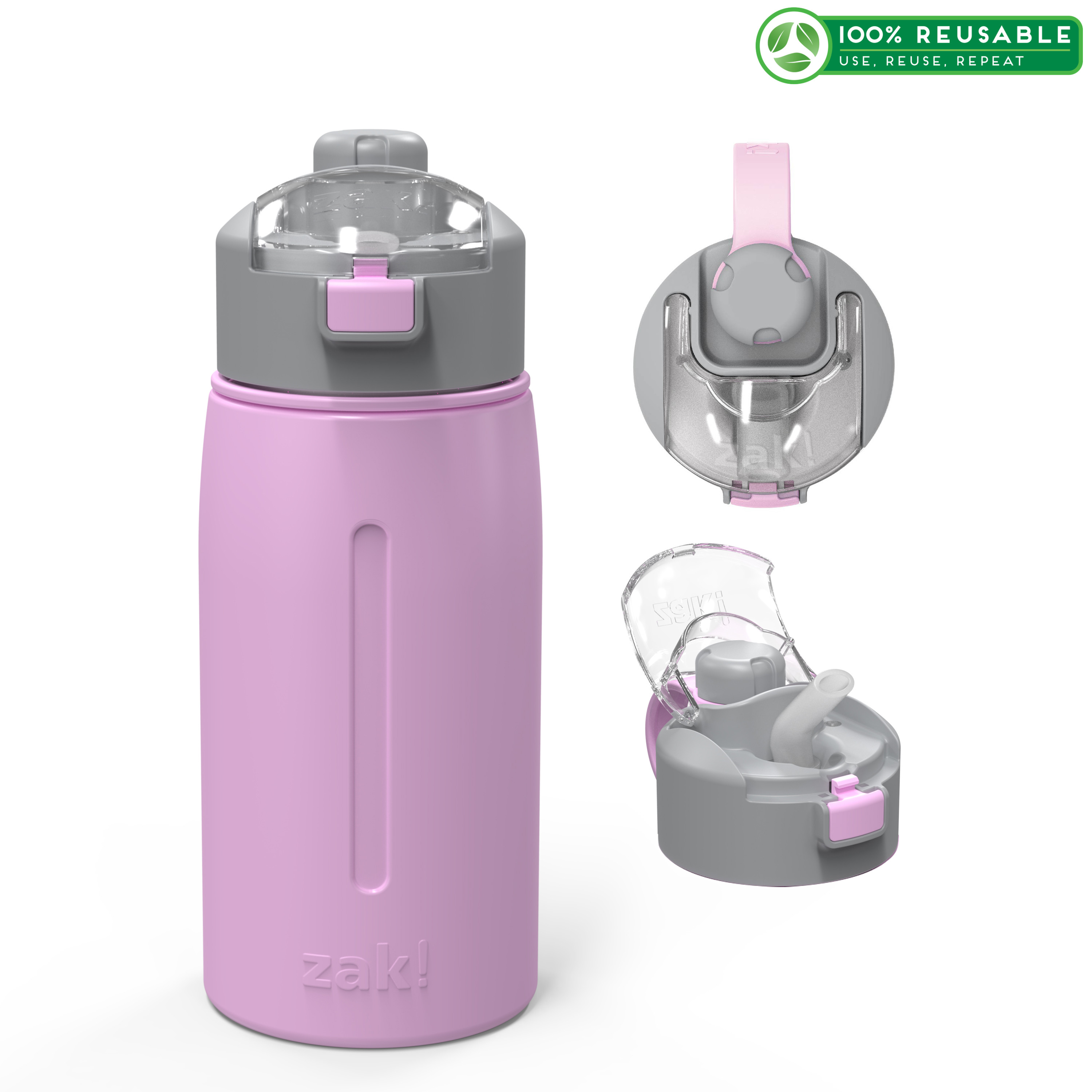 Genesis 18 ounce Vacuum Insulated Stainless Steel Tumbler, Lilac slideshow image 1