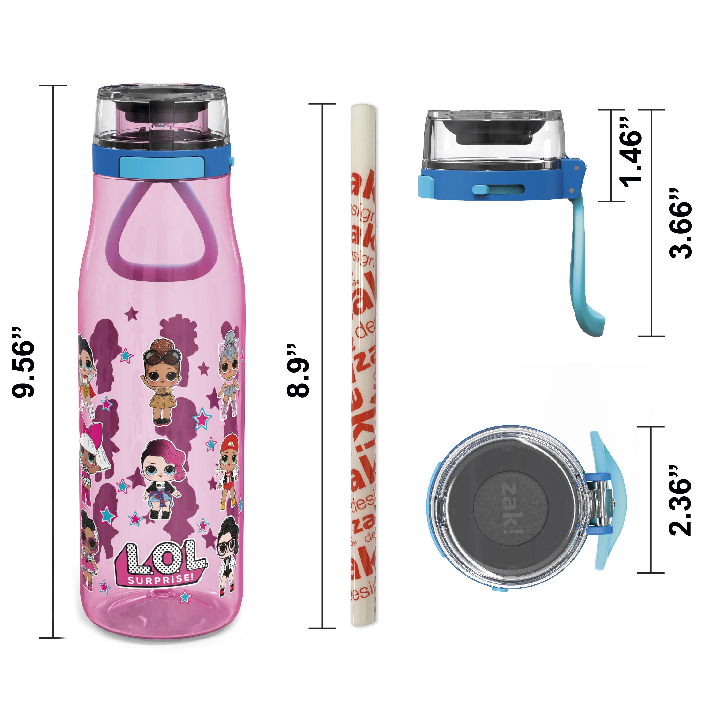 LOL Surprise 25 ounce Water Bottle, Favorite LOL Characters, 3-piece set slideshow image 8
