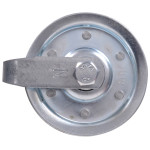 Galvanized Pulley with Fork, Bolt & Nut