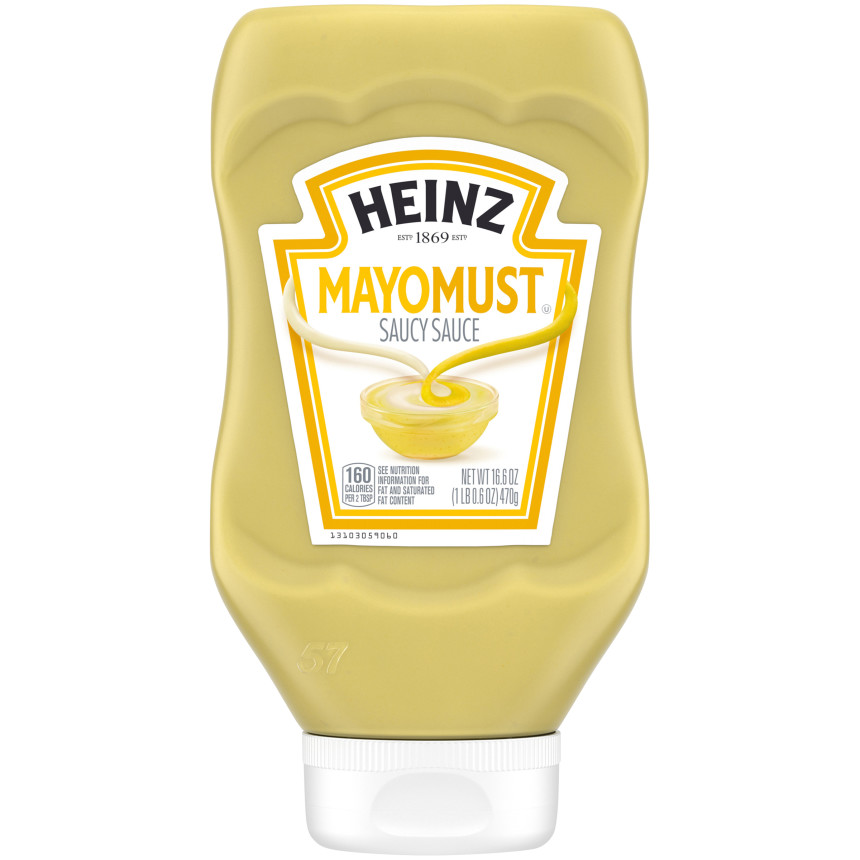 Heinz Mayomust, 16oz Squeeze Bottle image